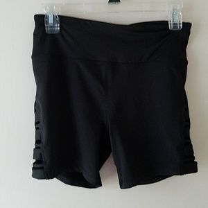 Betsey Johnson workout shorts.